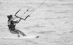 """""""King Of The Lake""""  Le rendez-vous du Kit Surf à Portalban (Num-Eric) Tags: kitsurf kitsurfing lac portalban lacdeneuchâtel vague vagues vitesse glisse kit kitsurfeur noirblanc nb"""