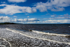 Five Minutes Away!! (BGDL) Tags: lightroomcc nikond7000 bgdl landscape odc nikkor18105mm3556g seascape weather clouds headsofayr ailsacraig prestwick intothebeautiful
