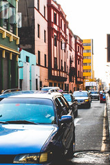 Centro de Lima (valnavarro) Tags: lima centro de trafico traffic peruvian city old cars taxi