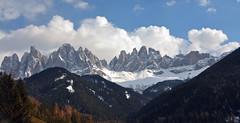 Odle Geisler Group - Dolomites (Atilla2008) Tags: odle geisler spring italy dolomiti dolomite valdifunes mountains villnoss d90 nikon