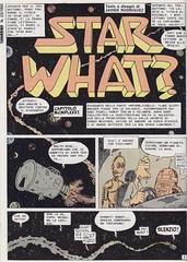Skorpio Raccolta #191 / Star What? (micky the pixel) Tags: comics comic fumetti heft sf scifi sciencefiction homor parodie euraeditoriale skorpio javierrodriguez starwhat starwars robot r2d2 c3po raumschiff spaceship blechdose tincan