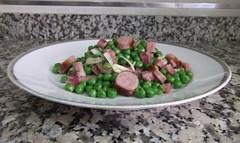 Guisantes con jamón (tone_michel) Tags: recetas de cocina