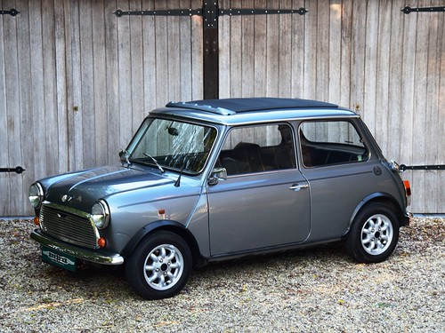 Mini Cooper (1991). Ex-John Coombs