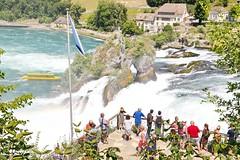 Rheinfall ZH 13.7.2018 2363 (orangevolvobusdriver4u) Tags: 2018 archiv2018 rheinfall schweiz suisse switzerland kantonzürich laufen laufenamrheinfall