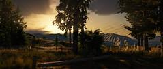 Land of Sunshine | GTAV (Razed-) Tags: cloudy land sunshine woods mountain los santos vinewood grand theft auto v gtav rockstar games naturalvision remastered