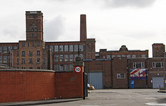 Eckersley's Mill (Ellsasha) Tags: wigan lancashire england cottonmill eckersleys factory cotton