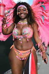 Chocolate Shake (Chuck Diesel) Tags: miamicarnival2018 masquerader costume people parade darkskin thick phatass curves curvy