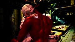 Vestalina & Rad Man (Lennik232) Tags: linachan lennik poser cute kawaii fantasy elves longears erotic pose
