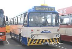 Ulsterbus 1882 (MHS21P). (Fred Dean Jnr) Tags: leyland leopard ulsterbus alexander 1882 mhs21p dublinport september2015 ardsbuspreservation