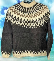 Icelandic wool sweater (Mytwist) Tags: ullar itchie icelandic classic love passion design handcraft craft sweater itch wool reykjavik fairisle fair isle íslensk fashion mytwist lopi pattern exclusive style fetish chunky bulky cozy retro timeless authentic heavy handgestrickt fuzzy casual icelandicsweater peysa islenzkur heimilisionaour mens mohair mockneck handmade iceland staciebargainbasement stacie bargain basement