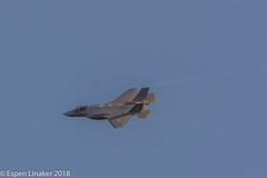 RNOAF 5149 Lockheed Martin F-35A Lightning II- AM-09 (Otertryne2010) Tags: 2018 2k18 enva norge norway trd trondheim værnes lockheed martin f35a f35 lightning ii low pass military rnoaf royal norwegian air force