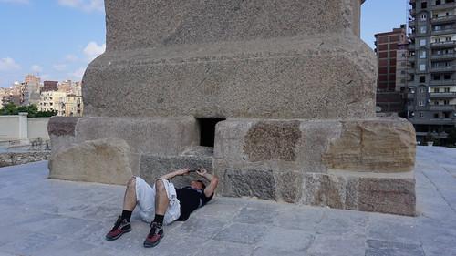 The Memorial of Diocletian (Pompey's Pillar), Alexandria, Egypt.