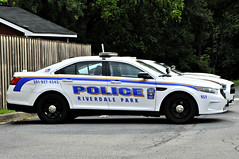 Marked Cruiser (Throwingbull) Tags: riverdale park md maryland city town incorporated municipal municipality police dept department law enforcement car vehicle cruiser marked unit