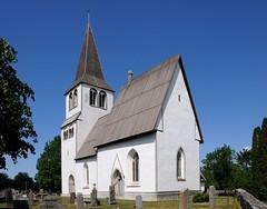 20180529-147F (m-klueber.de) Tags: 20180529147f 20180529 2018 mkbildkatalog nordeuropa skandinavien scandinavia schweden sweden sverige gotland hejde kyrka kirche romanisch gotisch romanik gotik sattelkirche