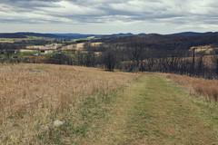 Rural Virginia Vista (matthewkaz) Tags: skymeadows skymeadowsstatepark sky clouds mountains blueridgemountains farm barn mtbleakskyefarm rural fauquiercounty va virginia 2018 whitebarn