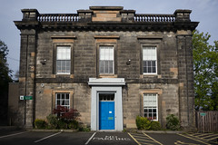 Sauchie House, Stirling (David_Leicafan) Tags: 24mmelmaritasph stirling nursery bakerstreetnursery classical greek sauchiehouse noparking balustrade pilaster dentilledcornice