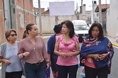 11 Octubre 2018. Entrega de la calle 23 Poniente, de 9 Sur a Tianguis Xixitla (Gobierno de Cholula) Tags: 23 poniente xixitla presidenta emma soledad pérez tenorio pavimento sanpedrocholulapuebla