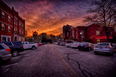An October Sunset in Morris (kendoman26) Tags: hss happyslidersunday hdr nikhdrefexpro2 niksoftware nikcoloreffex4pro nikon nikond7100 tokinaatx1228prodx tokina tokina1228 sunset morrisillinois