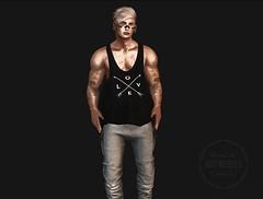 Volkstone X Represent (Noctis Radikal) Tags: volkstone represent bolson dappa stealthic secondlife digital paintedhair blonde man male