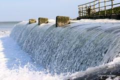 Water flowing into the Northsea (Fabke.be) Tags: water waterval waterfall flowing northsea noordzee vlaanderen zeeuws zeeland terneuzen netherlands nederland flickr explore inexplore nature natuur canon canon7dmkii canon70300mmisusml