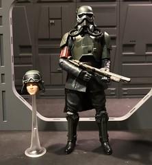 Custom mud trooper with alternate Han Solo Head. (chevy2who) Tags: customhansolo custommudtrooper customblackseries customstarwars trooper mud solo han series black wars star custom blackseries starwars