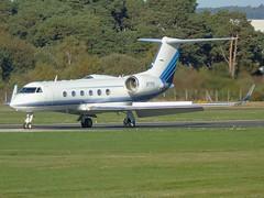 N77FK Gulfstream 4 (c/n 1357) EGLF (andrewt242) Tags: n77fk gulfstream 4 cn 1357 eglf