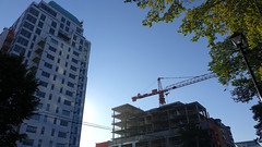 Construction in Halifax, Nova Scotia - September 2018 (Coastal Elite) Tags: construction halifax novascotia building thealexander apartment living condo tower condos condominium development architecture downtown alexander apartments construct build buildings high highrise tour skyscraper skyline grue crane cranes site chantier work peninsula 1363hollis