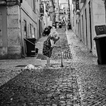 Lissabon Gente de Lisboa 28 bw thumbnail