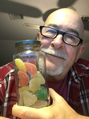 20181023 228/365:  Haribo Fruit Salad, it's not on my diet but... (lamarstyle) Tags: lamarstyle lamarstylepblamar 2018 iphone iphone6s 365days iphone365 visualdiary self candy haribofruitsalad