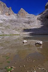 Uno specchio per le Pale (stefano.chiarato) Tags: laghetto lake palesanmartino pane dolomiti trentinoaltoadige italy montagne mountains paesaggio panorami landscape pentax pentaxk70 pentaxflickraward