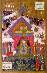 Suleiman_the_Magnificent_receives_an_Ambassador-by_Matrakci_Nasuh (skaradogan) Tags: matrakçı nasuh ottoman polymath minyatür
