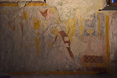 Catacombs - Getraudenkapelle wall painting (L. Charnes) Tags: austria salzburg stiftskirche church altstadt catacomb getraudenkapelle chapel