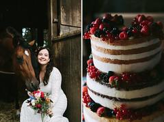 a&t wedding in wiesbaden (Yuliya Bahr) Tags: cake weddingcake wedding bride girl woman portrait horse flowers berry diptych weddingdiptych red rustic rusticwedding fashion sweet bridalbouquet