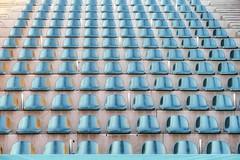 _ _ _  open-air  _ _ _ (christikren) Tags: austria christikren openair seats emptyseats tribüne linz türkis tourquise geometry exhibition cinema höhenrausch abstract stairs