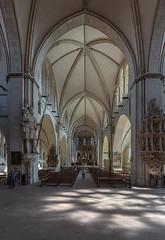Dom-in-Münster (ulrichcziollek) Tags: münsterland münster stpaulus dom kirche kirchenschiff gotik gewölbe gotisch