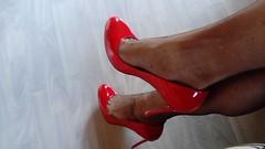 escv (20) (grandmacaon) Tags: highheels hautstalons escarpins sexyheels lowcutshoes toescleavage