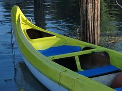 yellow canoe (ma.ri_na) Tags: canoa giallo ormeggio sile