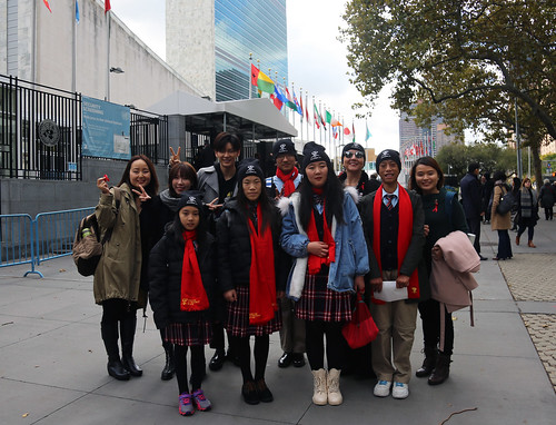 AHF China x Linfen Red Ribbon School New York City tour