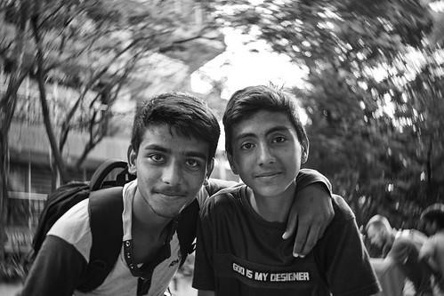 2018, Mumbai, India, school friend
