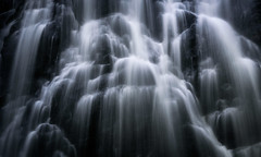 Crabtree Falls (Matt Creighton) Tags: waterfall crabtree falls north carolina pisgah national forest tamron70200 nikond750 mountains rock water river creek stream long exposure landscape