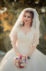 The Wedding Day (Sparkphotopro) Tags: bride iraq wedding attractive beautiful beauty bridal cheerful dress elegant event fashion female girl groom hair hairstyle happiness happy healthy holiday lady make makeup marriage model natural nature portrait pretty spring style white woman young