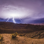 And the Lightning Strikes - Anza-Borrego Desert - October 12, 2018 thumbnail