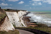 Chalk Cliffs Near Brighton (iwys) Tags: chalk cliffs brighton rottingdean coastal defences scenery blue sky sea sussex coast groynes beach