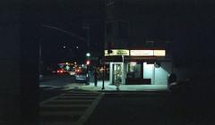 Buchanan St. (fraser_west) Tags: 800t cinestill film 35mm analog colour nights city light street travel roadtrip usa cinematic sanfransisco cornershop store wetheconspirators