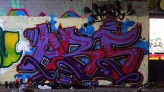 Oldenburg - (street: Melkbrink) 628th picture / Graffiti, street art (tusuwe.groeber) Tags: projekt project lovelycity graffiti germany deutschland lowersaxony oldenburg city streetart niedersachsen farbig farben favorit colourful colour sony sonyphotographing nex7 bunt red rot art gebäude building gelb grün green yellow konzept concept wall wand halloffame wandgestaltung lager lagerhalle hall halle melkbrink ares bmf crew
