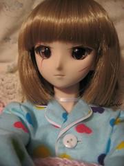Pajama Selfie (Lurkz D) Tags: spunky dollfie dd dollfiedream lurker doll vinyl volks custom