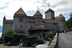 Kasteel op de rots. (limburgs_heksje) Tags: zwitserland schweiz swiss meervangeneve chateau chillon berner oberland grens