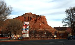 Kanab ~ Utah (Prayitno / Thank you for (12 millions +) view) Tags: kanab utah city town village good old americana scenic scene scenery classic vintage beautiful red rock road highway sightseeing unique sign