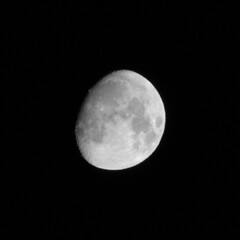 The Moon - IMG_9583 - Edited (406highlander) Tags: moon lunar space night sky waxinggibbous waxing gibbous astronomy astrophotography