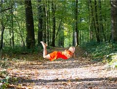 IMG_9304 (fab spotter) Tags: younggirl portrait forest levitation brenizer extérieur lumièrenaturelle